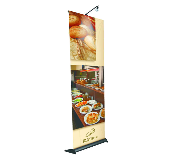 classic retractable banner stand