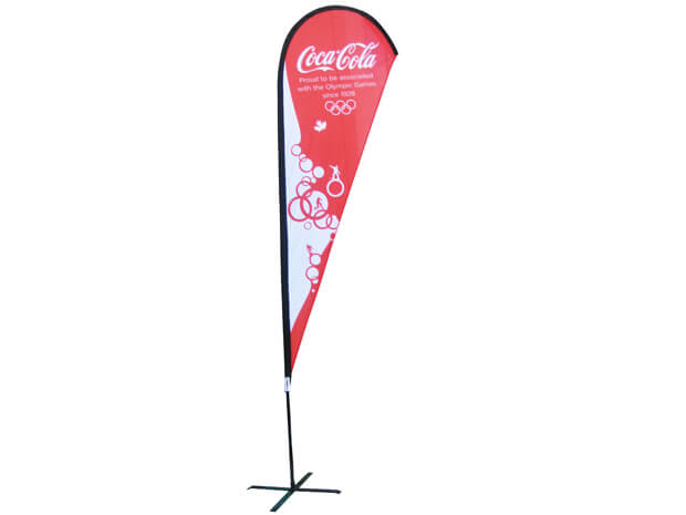 large flexi flag