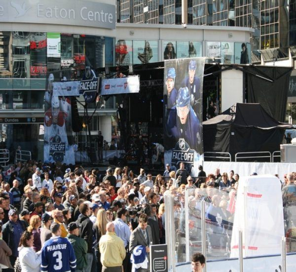 NHL Face-off Event