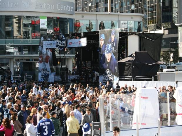 NHL Face-off Event – Toronto, since 2010