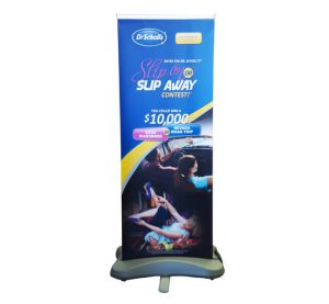 neptune outdoor retractable banner stand