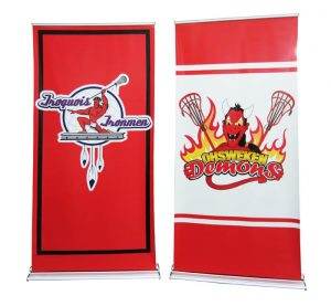 satinstep retractable banner stand