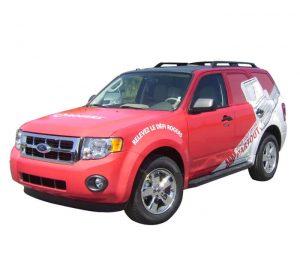 adhesive vehicle wrap