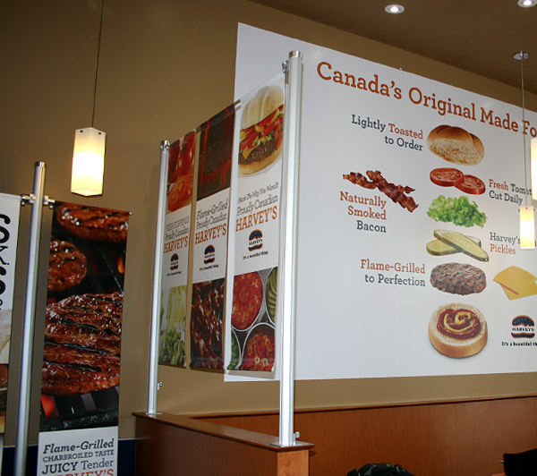 Cara Foods Harvey's 4 Wall Program – Across Canada, 2014