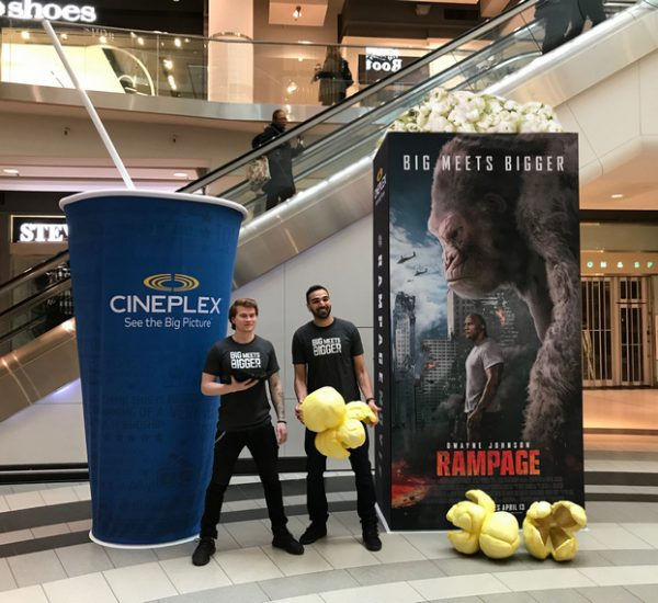 Cineplex – Across Ontario, 2018