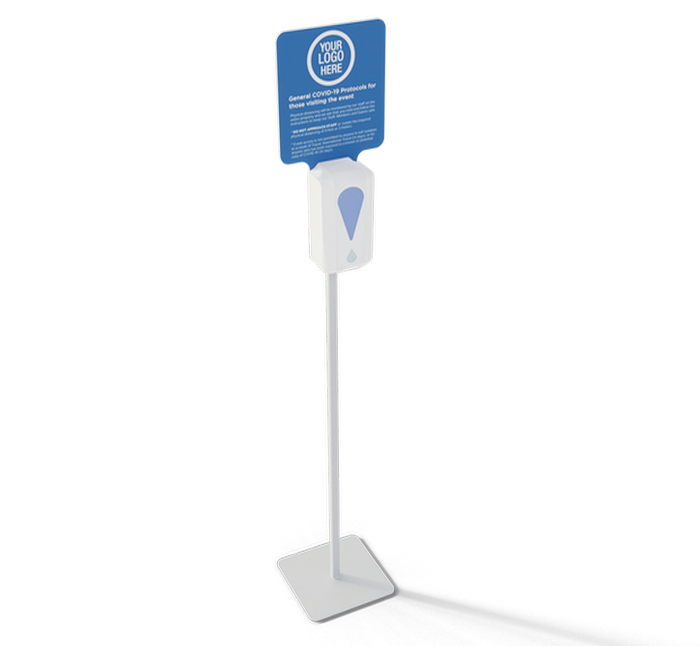 Automatic Pump Hand Sanitizer Display Stand