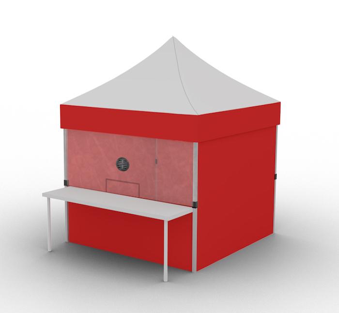 Curb Side Pick-Up Shelter